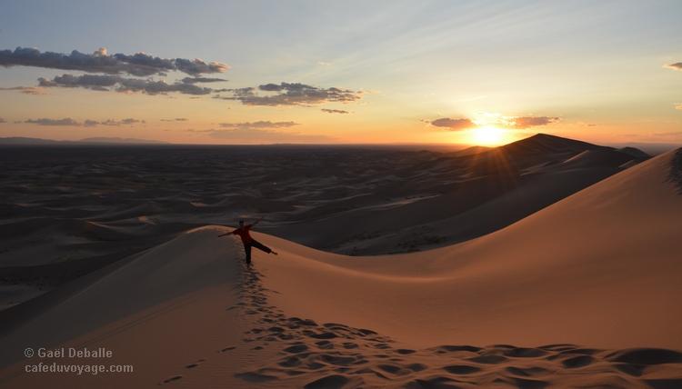Désert de Gobi : un désert de dunes et de sable en Mongolie