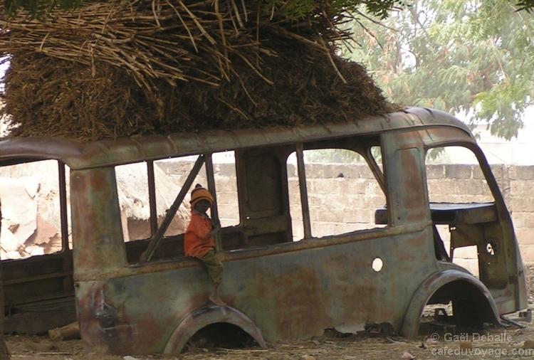 Séjour dans un village de brousse du Burkina Faso