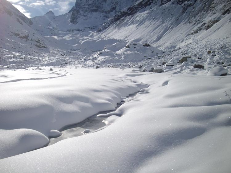 randonnée glacier de zinal