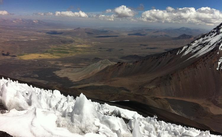 ascension volcan parinacota