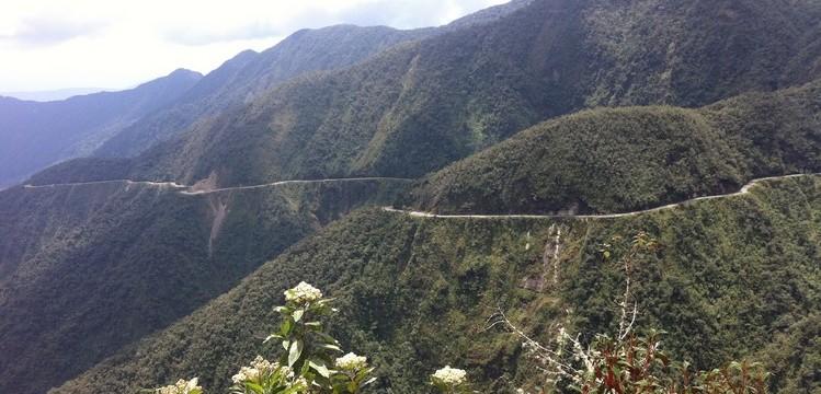 route de la mort bolivie vtt