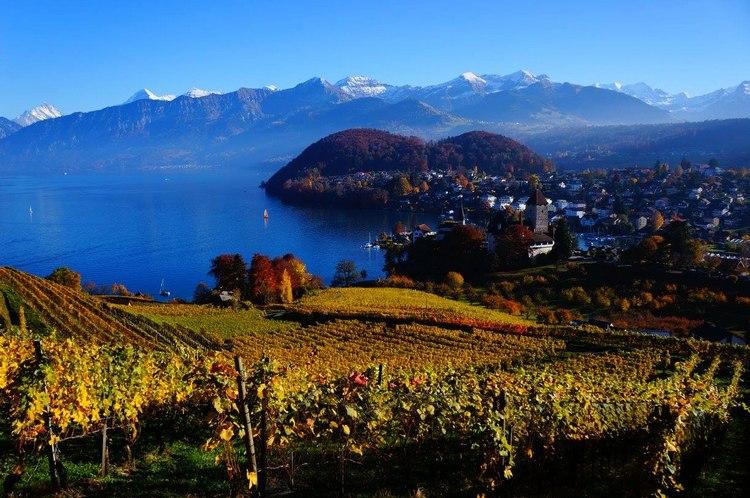 Visiter la Suisse en poésie