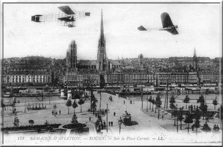 Rouen, la ville aux cent clochers