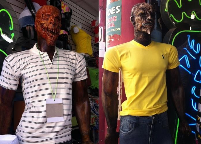mannequins effrayants