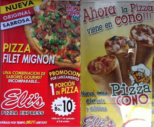 pizzas insolites bolivie