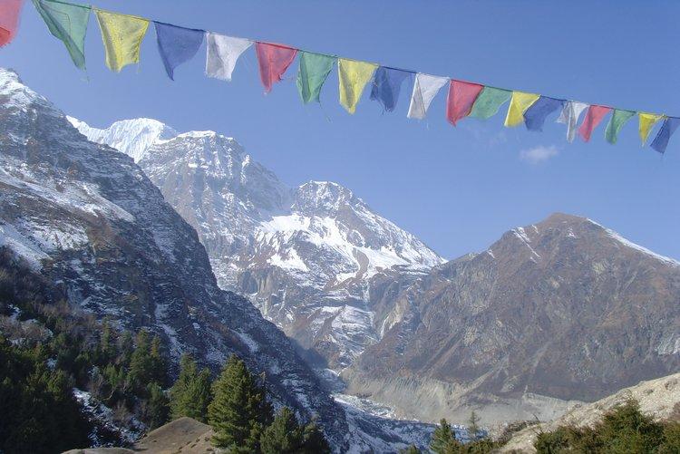 Récit en images du tour des Annapurnas