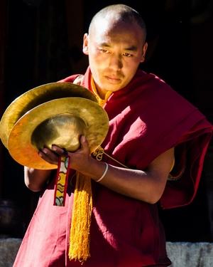 moine bouddhiste Népal